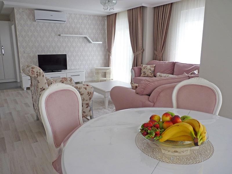 Appartement te huur in Antalya 3 Slaapkamer