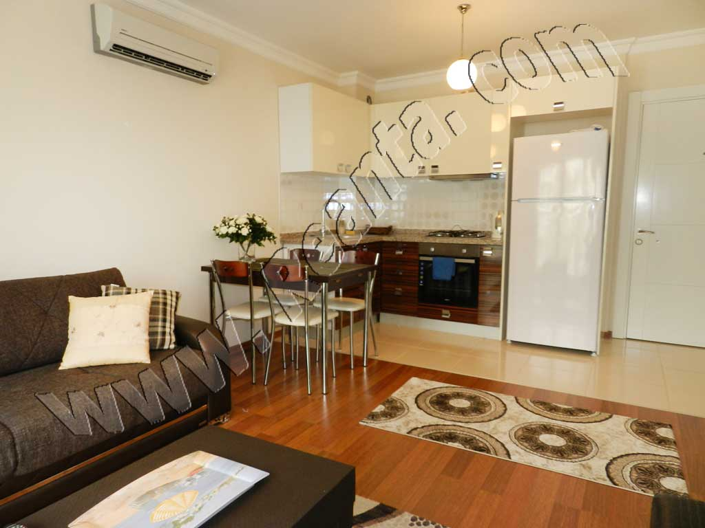 Lägenhet i Antalya, Turkiet 1 sovrum.